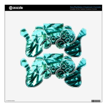 Beach Themed School of Fish PS3 Controller Skins