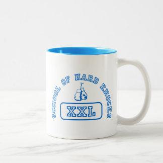 School of Hard Knocks #2 Two-Tone Coffee Mug