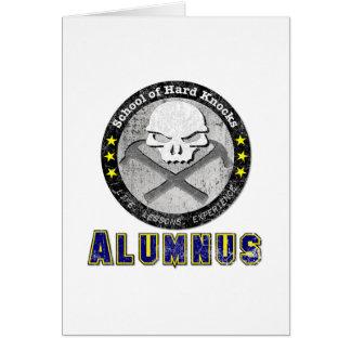 School of Hard Knocks - Alumnus gear Cards