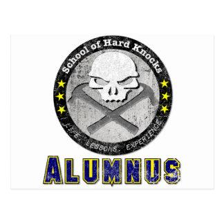 School of Hard Knocks - Alumnus gear Postcard