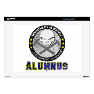 """School of Hard Knocks - Alumnus gear Decal For 15"""" Laptop"""