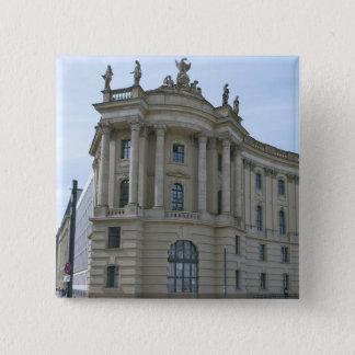 School of Law Humboldt University in Berlin Pinback Button
