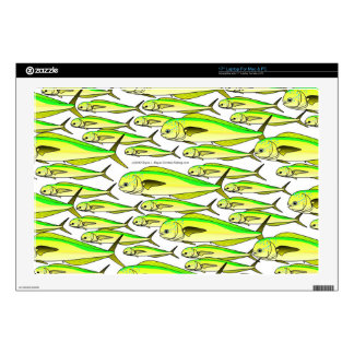 School of Mahi (Dolphin fish) Laptop Skin