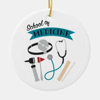 School Of Medicine Ceramic Ornament