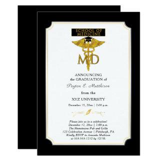 School of Medicine Doctor   Physician Graduation Card