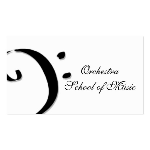school of music business cards