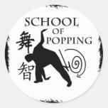 School of Popping Sticker