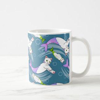 School of Purrmaids mug