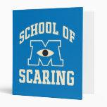 School of Scaring 3 Ring Binders