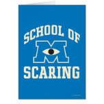 School of Scaring Card