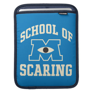 School of Scaring iPad Sleeve