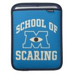 School of Scaring iPad Sleeves