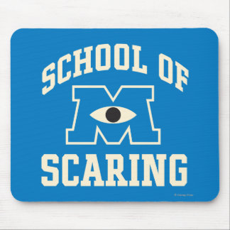School of Scaring Mouse Pad