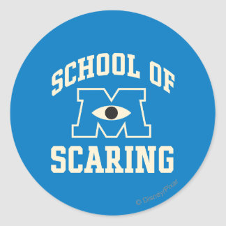 School of Scaring Stickers