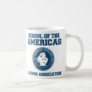 school of the americas3 mugs