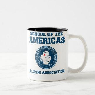 school of the americas alumni coffee mugs