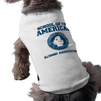 school of the americas alumni dog tee