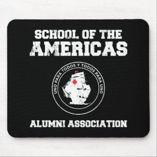 school of the americas alumni mouse pad