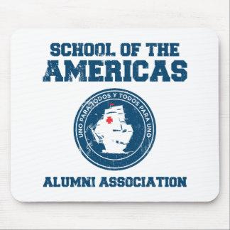 school of the americas alumni mousepads