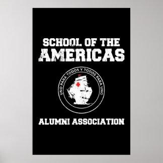 school of the americas alumni poster