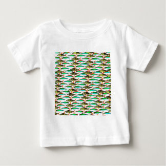 School of Tropical Amazon  Tetras Baby T-Shirt