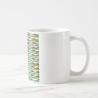 School of Tropical Amazon  Tetras Coffee Mug