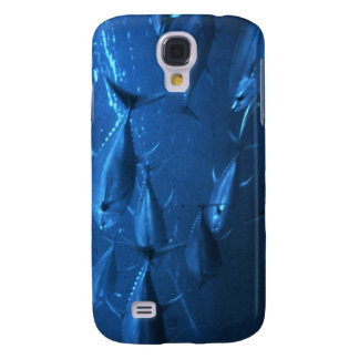 School of Yellowfin Tuna Galaxy S4 Cases