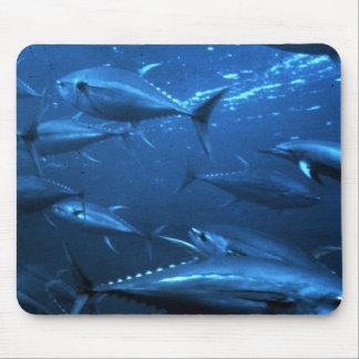 School of Yellowfin Tuna Mouse Pad