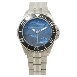 School of Yellowfin Tuna Wristwatch
