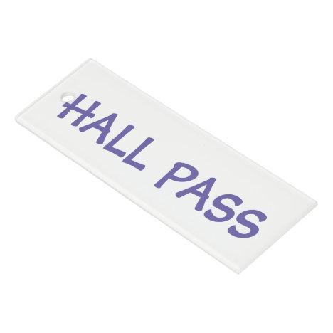 """School/Office """"Pass"""" Ruler"""