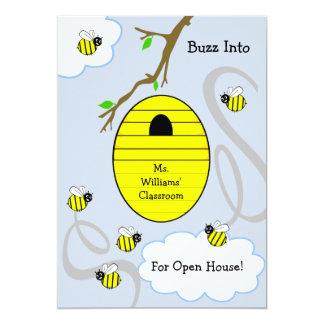 School Open House Invitation - Beehive