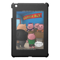 School Parents Day 4 Pigs Cards & Gifts Case For The iPad Mini