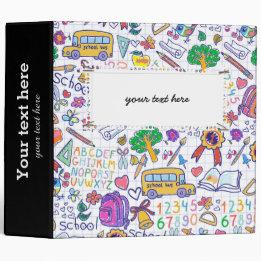 School pattern binder