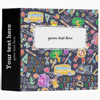 School pattern binder