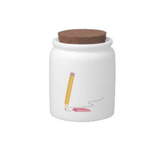 School Pencil Candy Dish