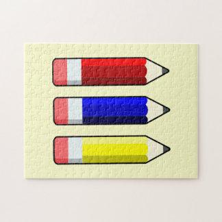 School Pencils Kids Puzzle