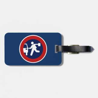School Pick-Up Point, Traffic Sign, Argentina Luggage Tags