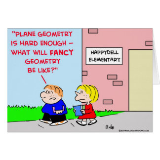 school plane geometry fancy greeting cards
