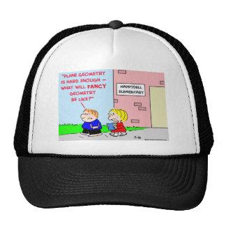 school plane geometry fancy hat