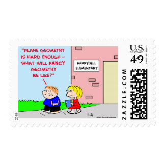 school plane geometry fancy postage stamps