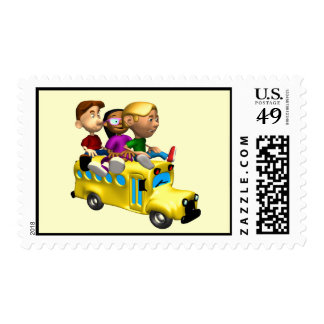 School Postage Stamps