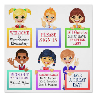 School Poster - SRF