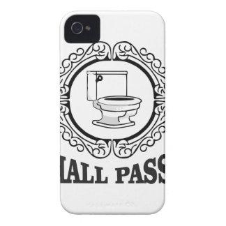 school potty pass iPhone 4 Case-Mate case