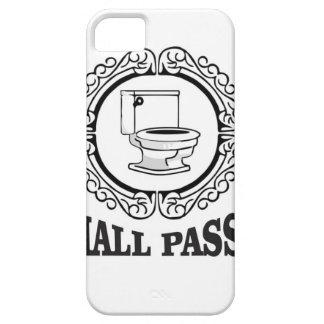 school potty pass iPhone SE/5/5s case