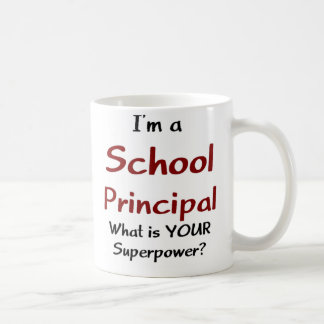 School principal coffee mug