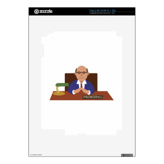 School Principal iPad 2 Decal