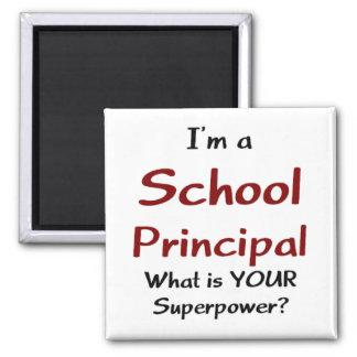 School principal magnet