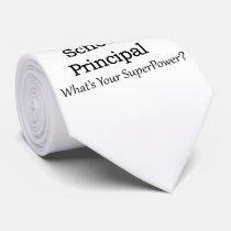 School Principal Neck Tie