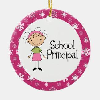School Principal Ornament