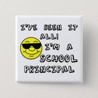 School Principal Pinback Button